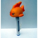 Poolthermometer mit Goldfisch