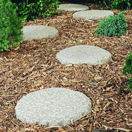 Trittsteine Garten granit trittsteine rund 24 75 tara teich und garten